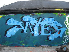 JATES (Brighton Rocks) Tags: graffiti brighton level the jates jate jater