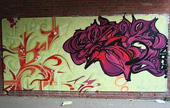 Graffiti - Münster Shool (g3niuz) Tags: pink graffiti purple canvas münster