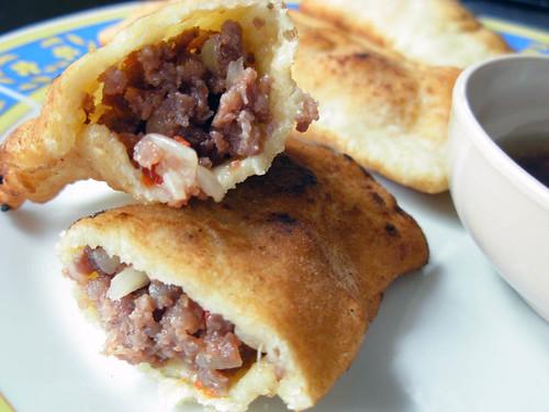 Ginger Beef Empanadas