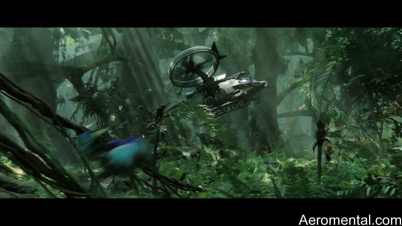 película Avatar helicóptero