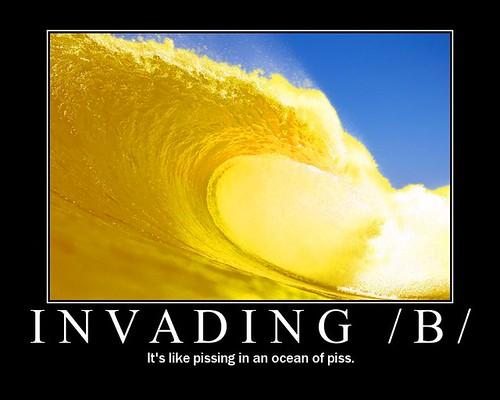 INVADING /B/