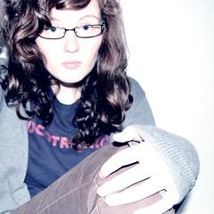 light white glasses hand flash curls tagged tocotronic p52 week33 projekt52 projekt520933