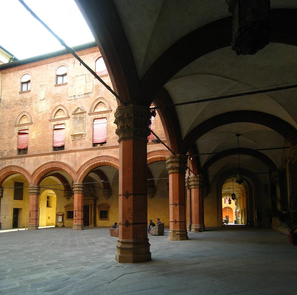 Cour de la l'hôtel de ville