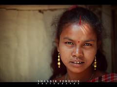 Portrait of a Woman (Shabbir Ferdous) Tags: portrait people woman girl female eyes photographer shot labor hindu sylhet bangladesh bangladeshi sidur ef70200mmf28lisusm canoneos5dmarkii shabbirferdous sirmongol teagardenlabor wwwshabbirferdouscom shabbirferdouscom
