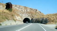 tunnel into the white hills. (sanguinella) Tags: white tunnel cliffs calabria
