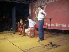 Roma - Democratic Party 2 (Dario Franceschini - galleria fotografica) Tags: party roma pd festa democratic dario franceschini degregorio caracalla intervista concita