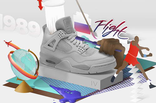 Air Jordan Wit