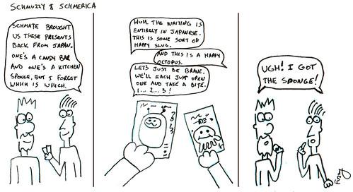 366 Cartoons - 218 - Schmuzzy and Schmerica