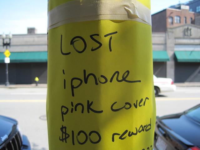Poor Lost iPhone