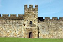 Ramparts Alnwick castle