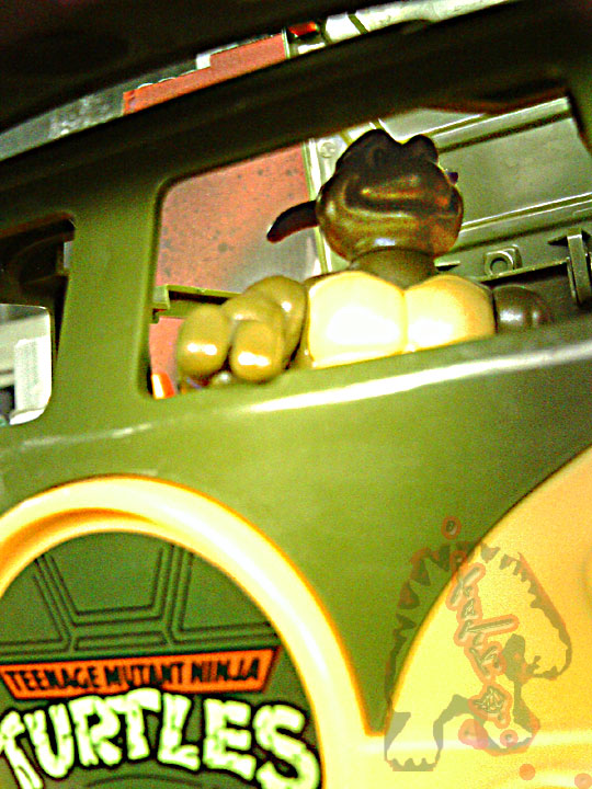 The tOkKa junkyard Car Show :: Classic Party Wagon vs. TMNT 25 Reissue //   Donnie T. 's masterpiece