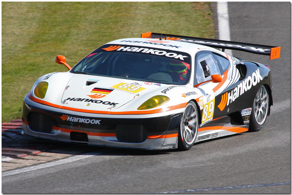 Hankook - Team Farnbacher Ferrari F430 GT GT2 Le Mans Series Silverstone 2009