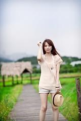 IMG_2520-Edit (Joseph Lu.) Tags: portrait girl beauty canon model pretty farm taipei 台北 frannie ef85mmf12lusm 台大安康農場 新店安坑 eos5dmarkii 小瀞