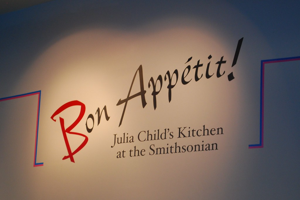 Julia Child Exhibit at the Smithsonian