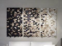Catherine Hammerton Bramble leather wallpaper (Believe Eve) Tags: londondesignfestival natuzzi theincidental