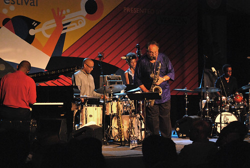 Joe Lovano's Us Five at the Monterey Jazz Festival