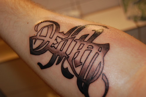 Death/Life Tattoo