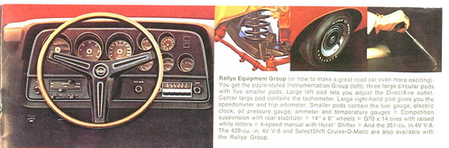 Info on 72 Torino Rallye Equipment Group by torinodave72.