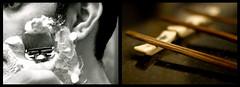 Fastidious (Intrepidteacher) Tags: shaving chopsticks razor fastidious 5cardflickr
