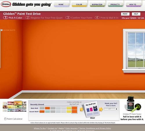 Pumpkin Orange Paint more free paint! |