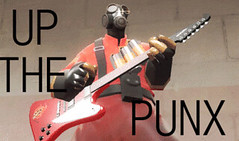 UP THE PUNX!!! (Eddie is the walrus) Tags: punk pyro upthepunx tf2 teamfortress2