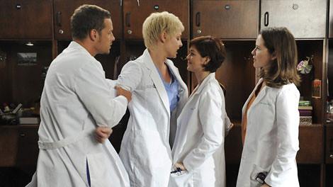 Grey's Anatomy Izzie Alex April Reed