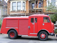 Karrier Fire Engine,  London E12 (sludgegulper) Tags: fire engine kings seven ilford tender redbridge karrier