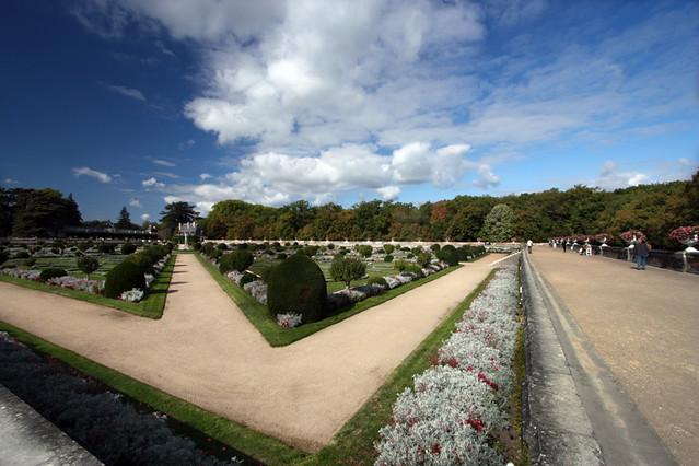Chenonceau Wide Angle Garden