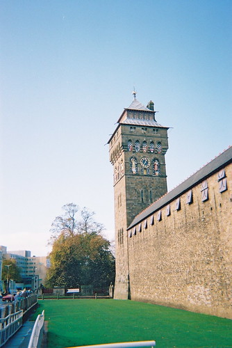 Cardiff Castle Tower