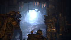 Metro 2033 (THQInsider) Tags: light game underground subway soldier gun russia moscow escalator videogame shooter fps thq postapocalypse metro2033