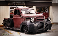 RAT ROD DODGE (RENE ORTEGA (RANACHILANGA)) Tags: auto road travel viaje hot classic cars car race truck vintage mexico nikon rat tour carretera decay rene rusty adventure mexican coche oaxaca dodge rod mopar custom 2009 lowered hdr resto streetrod clasico carrera ortega panamericana ratrod camioneta huatulco troca arguello d80 ranachilanga