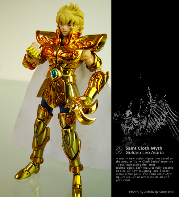 黃金聖衣 獅子座.艾奧里亞