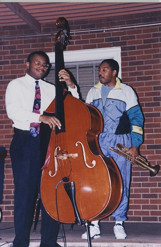 John Brown with Wynton Marsalis