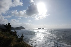 view from Cape Meares