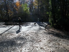 Hiking with work peeps 2009-11-07 003 (Oak Hollow, South Carolina, United States) Photo