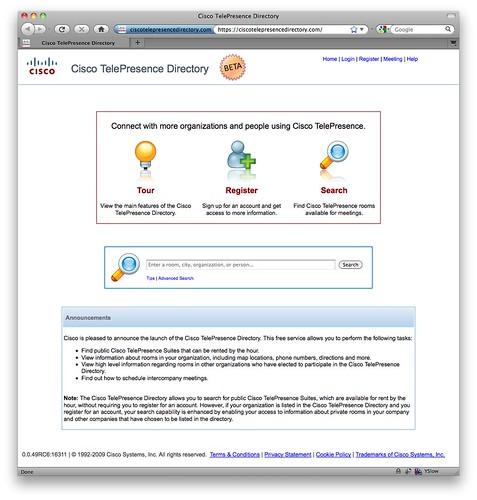 Cisco TelePresence Directory-1