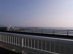 日和大橋より望む太平洋