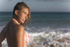 Janine, Sotavento, Fuerteventura (Quique Bloody) Tags: ocean sea beach girl island mar photo model chica fuerteventura playa canarias modelo blond rubia shooting canary oceano photoshooting sotavento