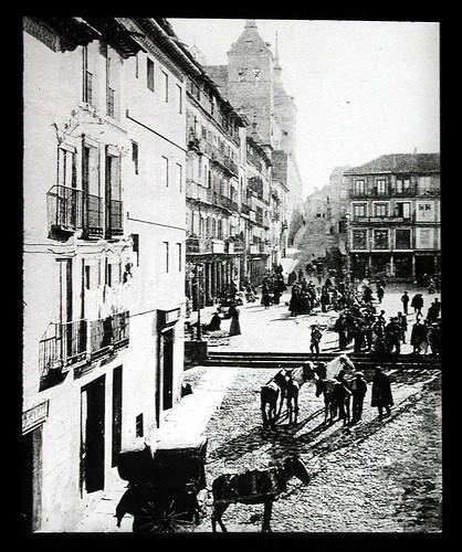 Zocodover a inicios del siglo XX. Ateneo de Madrid
