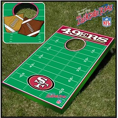 San Francisco 49ers Bean Bag Toss Game