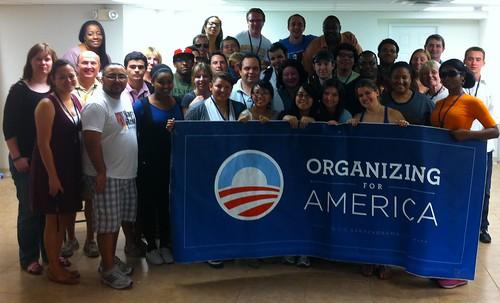 Summer Organizer class & OFA staff