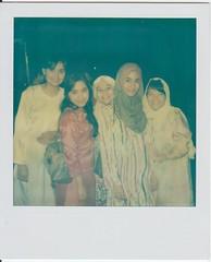 Bestfriends (dannrawr) Tags: polaroid sx70 hijab sonar tzartistic