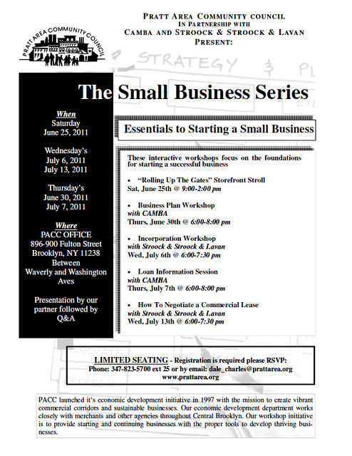 Small Business Series, June-July