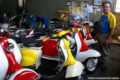Lambretta Service (VCLS) Tags: lambretta innocenti scooter vespa vcls valmir valmirclaudinodossantos brasil brazil pindamonhangaba motoneta motorcycle moto motocicleta mod motociclismo lambrettapinup lambretista lambretteira 1960s 1960 bike moped lifeonwheels italia italy