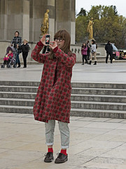 Japanese fashion arrives in Paris (pivapao's citylife flavors) Tags: paris france trocadero girl beauties