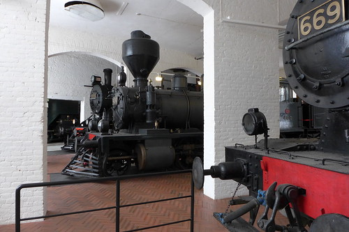 Engines in the engine shed