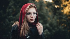 Tanya (andrewgubrenko) Tags: portrait photography film forest dark girl beautifull