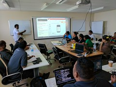 UNDP_ Ridge to Reef - Nauru - Akvo FLOW training - Feb 2017