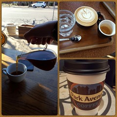 Day 56 Of 365 Days Of Coffee (SarahJDhue) Tags: sarahjdhue sarahjdhuephotos samsung galaxys6 cellphone 56 2017 365daysofcoffee 365 coffee coffeeshop sump kaldis demun parkavenue crawl stl stlouis mo missouri challenge photo pour cappucino sidecar javajacket shops multiple collage photocollageapp 3 brew kenya clubsoda chocolate espressobeans
