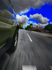 Dead Man's Curve (i_am_durin) Tags: blue sky clouds dead stingray mans jag curve hdr bbt xke spartanburg theredpill zoomy jananddean deadmanscurve durinsday